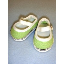 "Shoe - Everyday Canvas - 2 3_4"" Light Green"