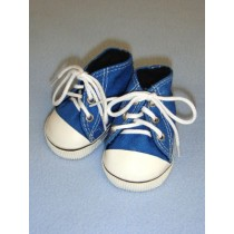 "Shoe - High-Top Tennis - 3"" Blue"
