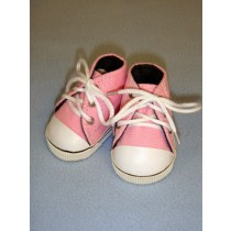 "Shoe - High-Top Tennis - 3"" Pink"