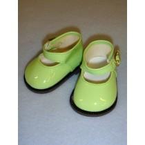 "Shoe - Mary Jane - 3"" Light Green Patent"