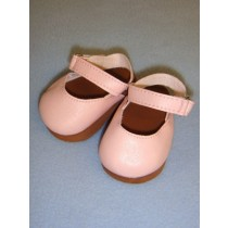 "Shoe - Mary Jane Clogs - 3"" Pink"