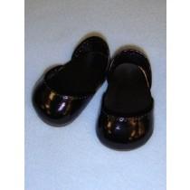 "Shoe - Metallic Sparkly - 2 3_4"" Black"