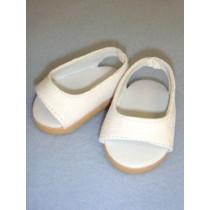 "Shoe - Pretty Wedge - 2 3_4"" White"