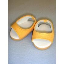 "Shoe - Pretty Wedge - 2 3_4"" Yellow"