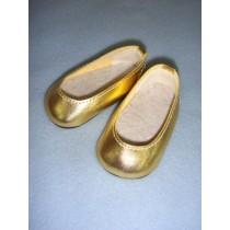 "Shoe - Princess - 2 3_4"" Metallic Gold"