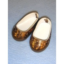 "Shoe - Slip-On - 2 3_4"" Metallic Copper"