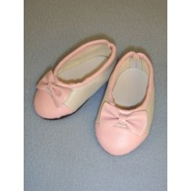 "Shoe - Slip-On - 3"" Pink & White"