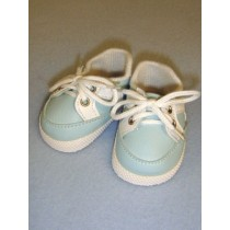 "Shoe - Sporty - 2 7_8"" Light Blue_White"