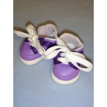 "Shoe - Sporty - 2 7_8"" Two-Tone Purple"