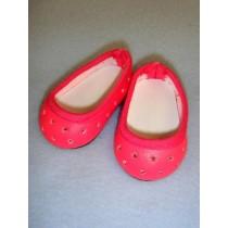 """Shoe - Super Star Slip-On - 2 3_4"""" Dark Pink"""