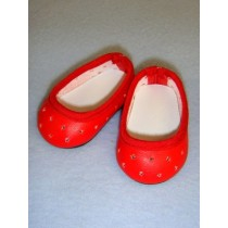 "Shoe - Super Star Slip-On - 2 3_4"" Red"