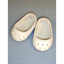 """Shoe - Super Star Slip-On - 2 3_4"""" White"""