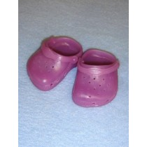 "Shoe - Walk-A-Lot - 3"" Opaque Purple"
