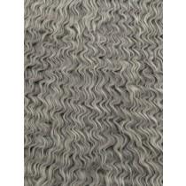 Silver Wavy Mongolian Fur - 1 Yd