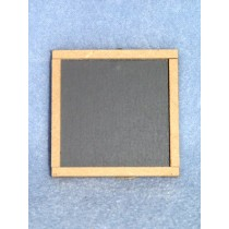 "Slate Chalkboard - 2"" Square"