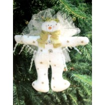 Starr Whimsical Snow Angel Ornament Pattern