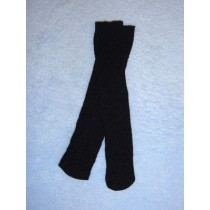 "Stocking - Lattice - 18-20"" Black"