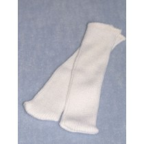"Stocking - Tube - 6"" White"