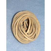 "Suede Lacing - 1_8"" Tan Pkg_8 Yds"