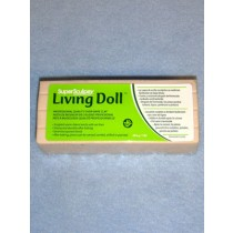 Super Sculpey Living Doll Clay - 1 lb Flesh_Light