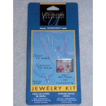 Swarovski Ribbon Jewelry Kit - Rose
