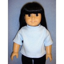 "T-Shirt for 18"" Doll - Light Blue"