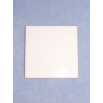 "Tile - White Glazed - 4 1_4"" square"