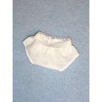 Tiny Doll Panties - White