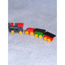 "Train - 4"" Mini Wood"