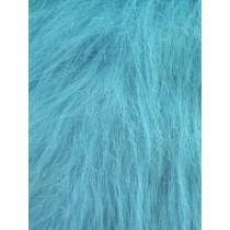 Turquoise Fun Fur - 1 yard