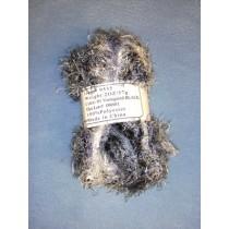 Variegated Yarn - Black - 2 oz Polyester