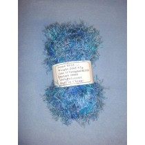 Variegated Yarn - Blue - 2 oz Polyester