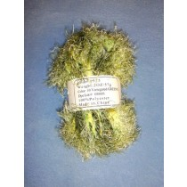 Variegated Yarn - Green - 2 oz Polyester