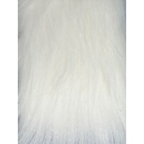 White Fox Fur Fabric
