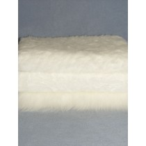 White Fur Fabric Bundle - 3 Yds