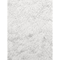 White Shaggy Cuddle Fabric - 1 Yd