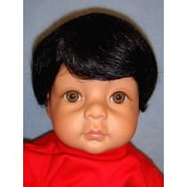 """Wig - Bebe_Baby Boy - 14-15"""" Black"""