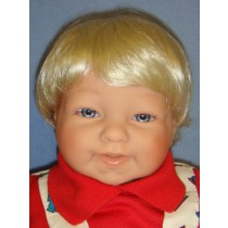 "Wig - Bebe_Baby Boy - 14-15"" Pale Blond"
