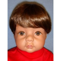 "Wig - Bebe_Baby Boy - 16-17"" Brown"