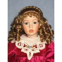 "Wig - Elizabeth - 8-9"" Honey Blond"