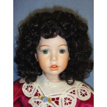 "Wig - Heather - 8-9"" Dark Brown"