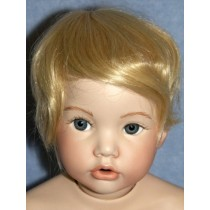 "Wig - Newborn - 9-10"" Pale Blond"