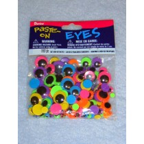Wiggle Eye - Assorted Size Neon