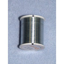Wire- Beading-28 Gauge-Silver-40yd