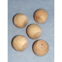 "Wood - Ball Knob - 2 1_4"" Pkg_5"