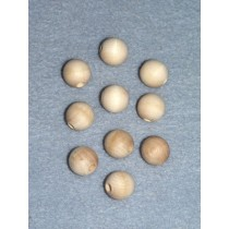 Wood - Bead - 12mm Pkg_100