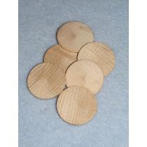 """Wood - Disk - 1 1_2"""" Pkg_6"""
