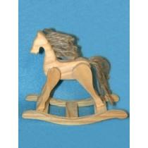 Wood - Rocking Horse w_Jute  4 5_8