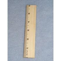 "Wood - Ruler - 6"""