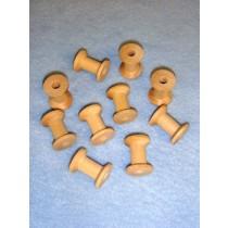 "Wood - Spool - 1 1_8"" x 7_8"" Pkg_10"